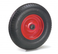 Fetra Polyurethan-Räder, 400x100 mm Größe PU-Block Felge