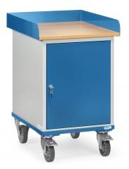 Fetra Rollschrank mit Umrandung und Stahlschrank
