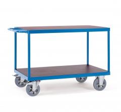 Fetra Super-MultiVario-Transporter Tischwagen mit 2 Etagen