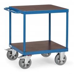 Fetra Super-MultiVario-Transporter Tischwagen mit quadratischen Ladeflächen