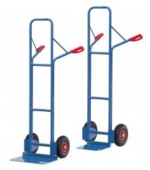 Fetra Stahlrohrkarre Vollgummi-/Luftbereifung, Höhe 1600 mm