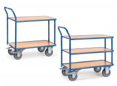 Fetra Tischwagen 2-3 Etagen Baukastensystem