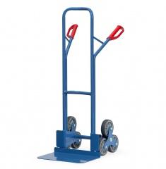 Fetra Stahlrohr-Treppenkarre, mit dreiarmigen Radsternen, Schaufelbreite 480mm