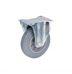 Fetra Vollgummi Bockrolle, 160x40 mm Radgröße