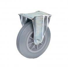 Fetra Vollgummi Bockrolle, 200x50 mm Radgröße