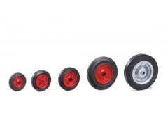 Fetra Vollgummi-Räder, verschiedene Größen