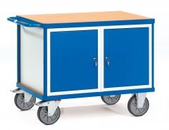 Fetra schwerer Werkstattwagen mit 2 Schränken