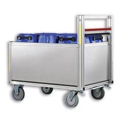 Günzburger Rollcontainer mit Aluminiumbox