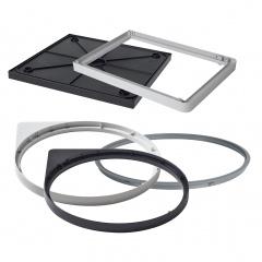 Hailo Boden/-ringe, Rahmen und Oberringe als Ersatzteil für Abfallsammler