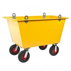 Kongamek Abfallwagen mit Hebeösen und Luftbereifung bis 400l Volumen
