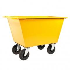 Kongamek Abfallwagen mit Gummibereifung bis 400l Volumen