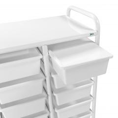 Kongamek Box oder Deckel in rot/weiß als Zubehör für Kistenwagen