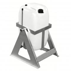 Kongamek Fassausgießer in grau 280x260x410mm für 25l-Kanister