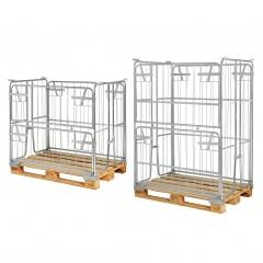 Kongamek Palettencontainer verzinkt 1000-1800mm hoch passend zu Europaletten 1200x800mm