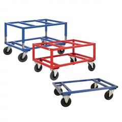 Kongamek Palettenwagen in blau oder rot 305-655mm hoch für Paletten 1200x1000mm