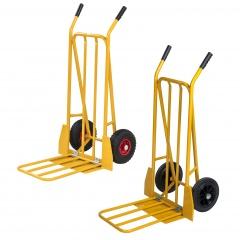 Kongamek Gepäck- und Sackkarre klappbar 780x555x1110mm in gelb mit 250kg Tragkraft