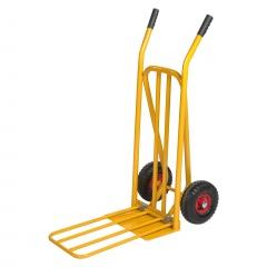 Kongamek Gepäck- und Sackkarre, klappbar 920x480x1170mm in gelb mit 250kg Tragkraft