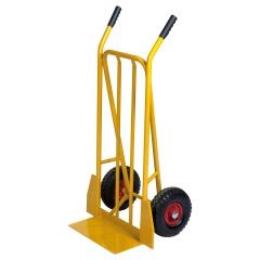 Kongamek Gepäck- und Sackkarre, starr 780x555x1110mm in gelb mit 250kg Tragkraft