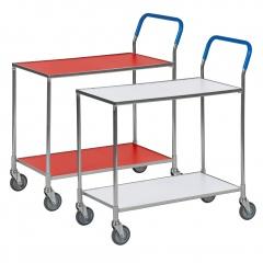 Kongamek Tischwagen wahlweise mit Bremse 850x435mm Ladefläche