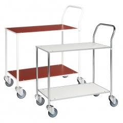 Kongamek Tischwagen voll verschweisst 755x430mm Ladefläche, wahlweise mit Bremse