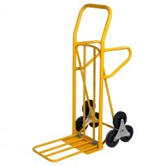 Kongamek Treppensteiger klappbar 870x510x1225mm in gelb mit 200kg Tragkraft