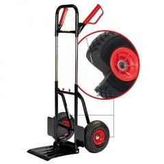 Pro-Bau-Tec 1-2-3 Profi-Stapelkarre mit PU-Rädern