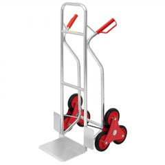 Pro-Bau-Tec Aluminium Stapelkarre Treppensteiger 150kg Tragkraft