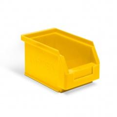 Protaurus Sichtlagerkasten Größe 6 in gelb 230x140x130mm