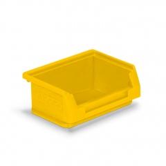 Protaurus Sichtlagerkasten Größe 8 in gelb 85x105x45mm