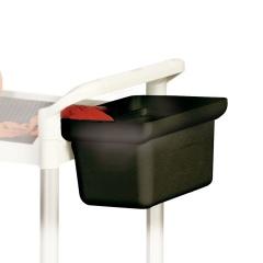 Protaurus Ablagebox 200mm hoch schwarz für Etagenwagen