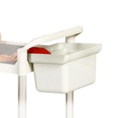 Protaurus Ablagebox 200mm hoch hellgrau für Etagenwagen