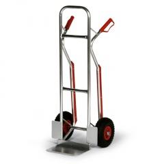 Protaurus Aluminium -Stapelkarre 200kg Traglast 308x208mm Schaufel