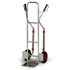 Protaurus Aluminium -Stapelkarre 200kg Traglast 280x280mm Schaufel