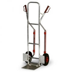 Protaurus Aluminium -Stapelkarre 200kg Traglast 280x240mm Schaufel klappbar