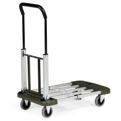 Protaurus Aluminium Transportwagen ausziehbar und klappbar mit 150kg Traglast