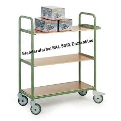 Protaurus Etagenwagen R200 mit 3 Ladeflächen ohne Verkleidung mit Feststellern