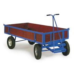 Protaurus Handpritschenwagen Serie 400/401 mit Bordwänden bis 2500x1250 mm