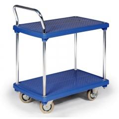 Protaurus Kleintransportwagen mit 2 Kunststoff- Ladeflächen