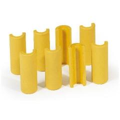 Protaurus Kunststoff-Clips Ø34mm 8-er Pack
