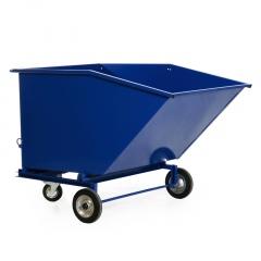 Protaurus fahrbarer Muldenkipper ohne Einfahrtaschen 1330x925mm 400l Wasserdicht