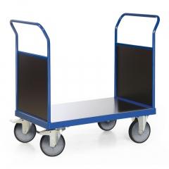 Protaurus Plattformwagen F600 mit 2 Holz- Stirnwänden ohne Bordkante 850x500mm