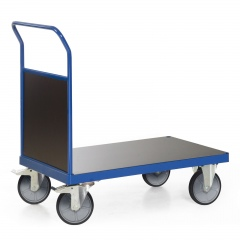 Protaurus Plattformwagen F600 mit 1 Holz- Stirnwand ohne Bordkante 850x500mm
