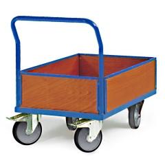 Protaurus Plattformwagen R600 mit 4 Holzwänden TPE 1200x800mm