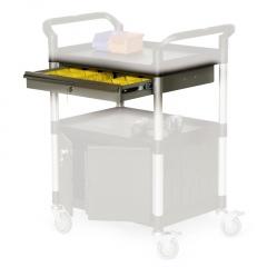 Protaurus Schublade in grau 680x450mm für Etagenwagen