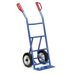Protaurus Stahlrohr Stapelkarre 250kg Traglast Rollenlager Vollgummi 250x60mm