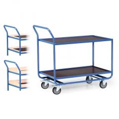 Protaurus Tischwagen Serie R300 mit 2 Ladeflächen 1000x600mm und Bordleisten