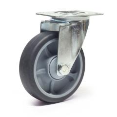 Protaurus TPE-Lenkrolle Ø 100mm mit Kugellager 135kg Traglast
