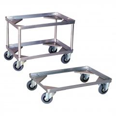 Rollcart Behälter-Fahrgestell ohne Griffbügel für Transportkisten mit 1-2 Ladeflächen