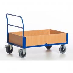 Rollcart Bordwandwagen mit 4 Wänden bis 600kg Tragkraft