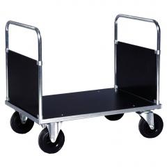 Rollcart Zweiwandwagen, verzinkt mit beschichteter Holzwerkstoffplatte 500kg Tragkraft